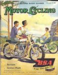 BSA Motorcycle Poster P5089